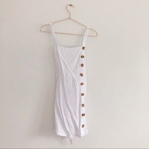 Forever 21 Button Front mini dress
